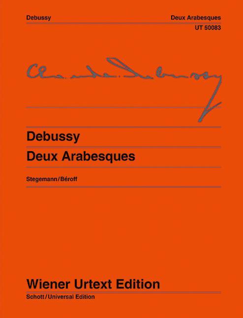 Deux Arabesques  Nach Autograf und Erstausgaben. Klavier.  Michael Stegemann  Broschüre  Deutsch  1989 - Stegemann, Michael