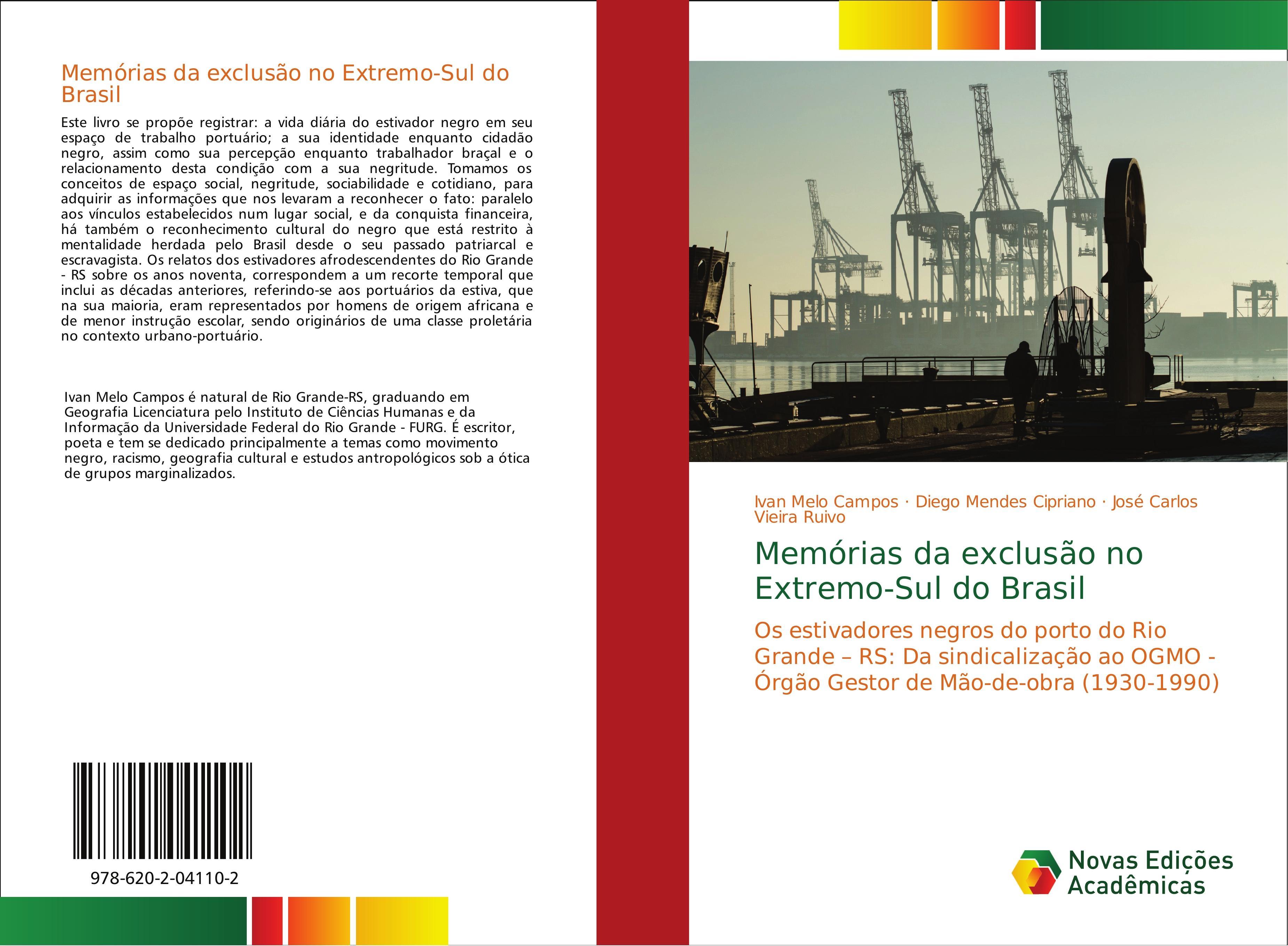 Memórias da exclusão no Extremo-Sul do Brasil  Ivan Melo Campos (u. a.)  Taschenbuch  Portugiesisch  2018 - Melo Campos, Ivan
