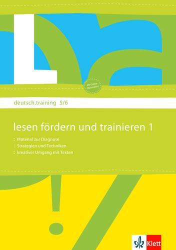 deutsch.training. 5. und 6. Klasse. Arbeitsheft zur Leseförderung  Diagnostizieren und individuell Fördern  Broschüre  deutsch.training  Deutsch  2008