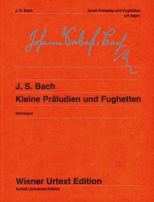 Kleine Präludien und Fughetten  Nach Autografen und Abschriften  Walther Dehnhard  Taschenbuch  Deutsch  1973 - Dehnhard, Walther