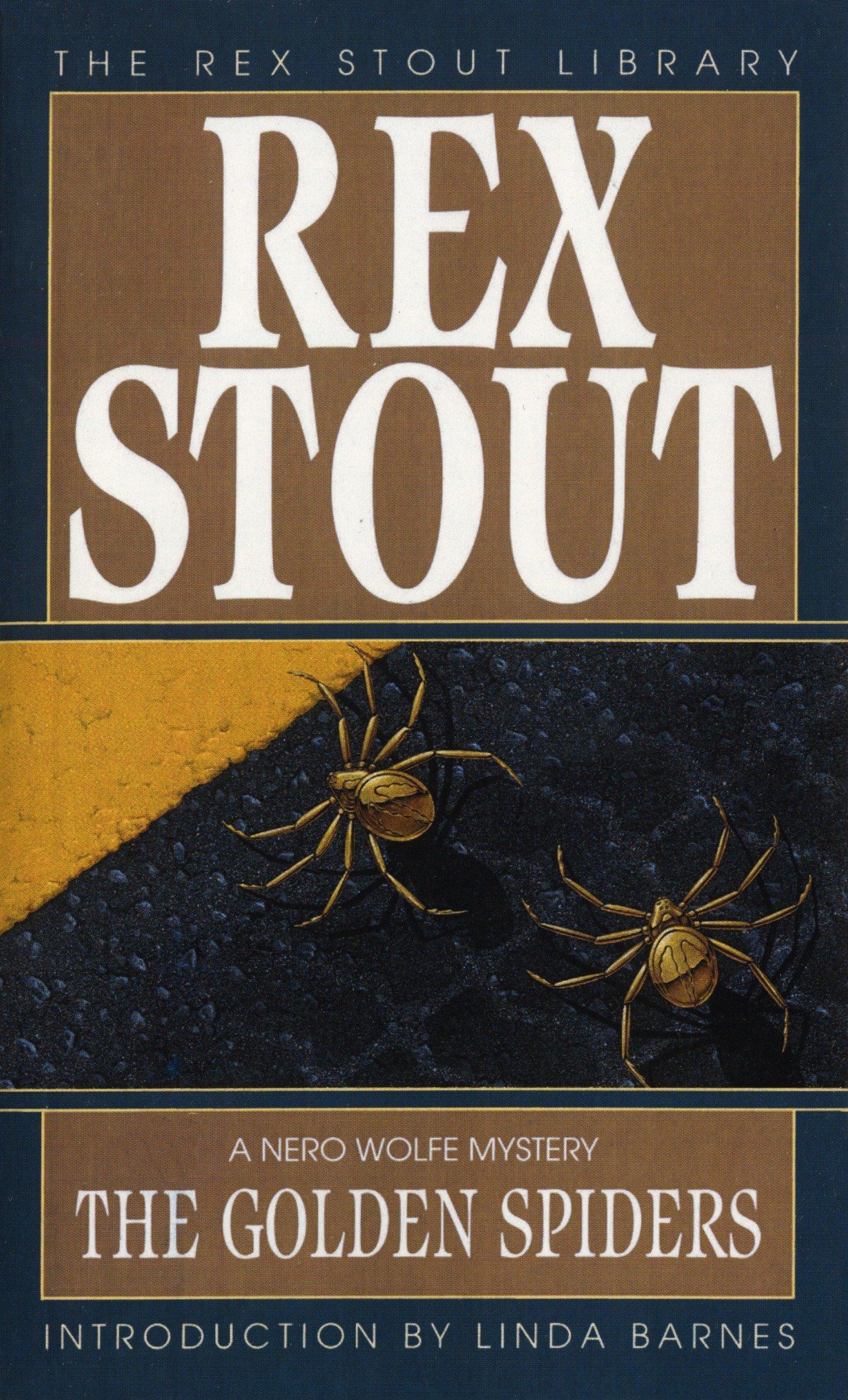 Golden Spiders  Rex Stout  Taschenbuch  Englisch  1995