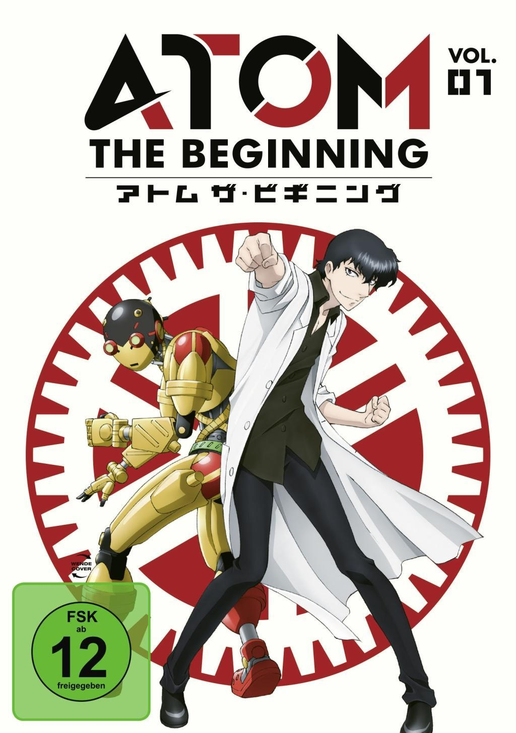 Atom the Beginning Vol. 1  DVD  Deutsch  2018
