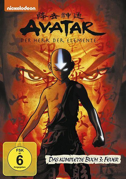 Avatar - Der Herr der Elemente, Das komplette Buch 3: Feuer (4 Discs, Multibox)  Deutsch/Englisch/Französisch/Niederländisch  DVD  Avatar ? Der Herr der Elemente  4 DVDs  Deutsch  2014
