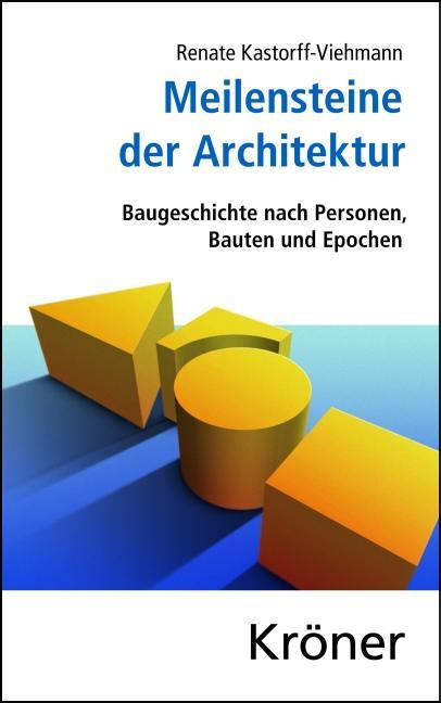 Meilensteine der Architektur Baugeschichte nach Personen, Bauten und Epochen