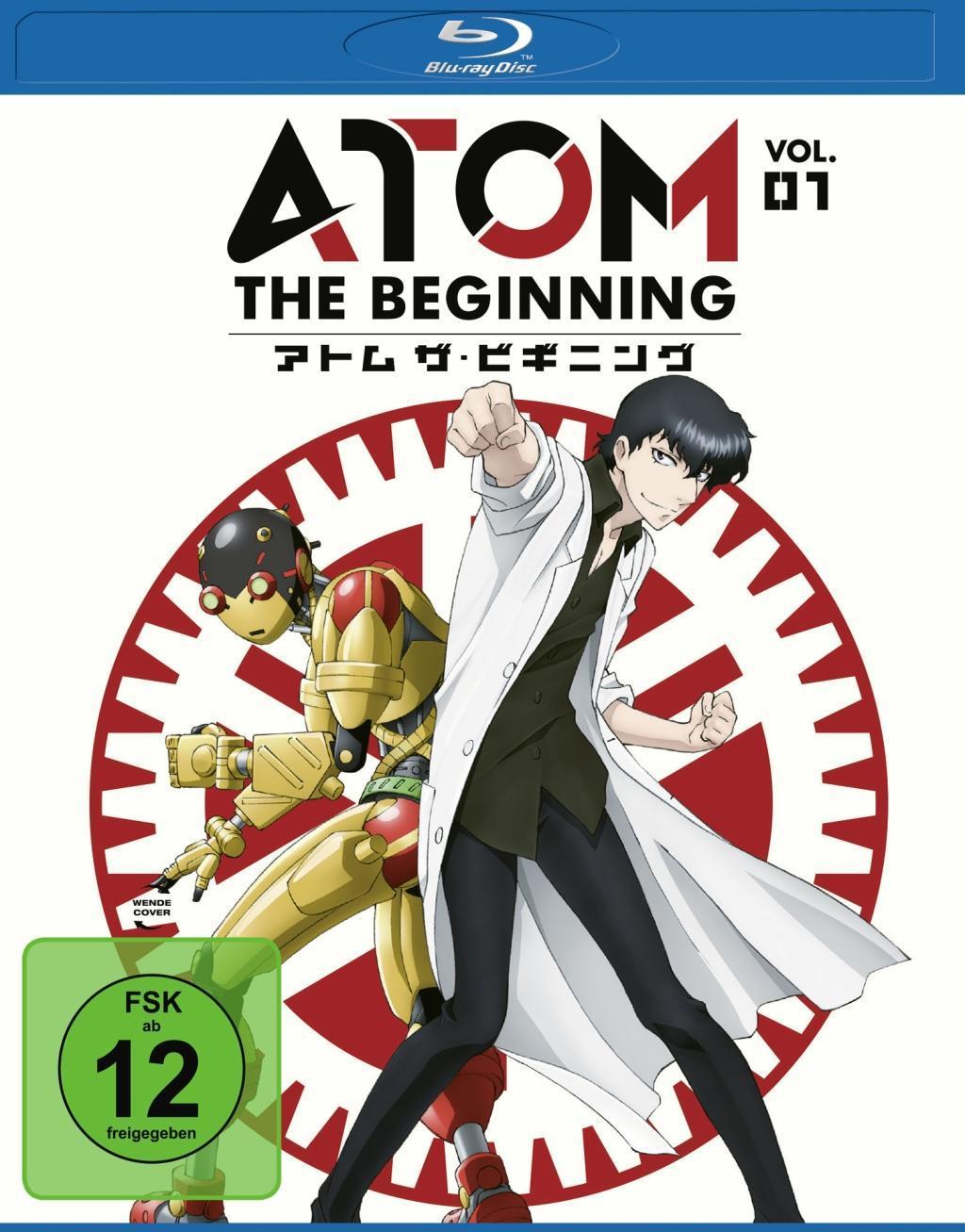 Atom the Beginning  Vol. 1  Junichi Fujisaku  Blu-ray Disc  Deutsch  2017