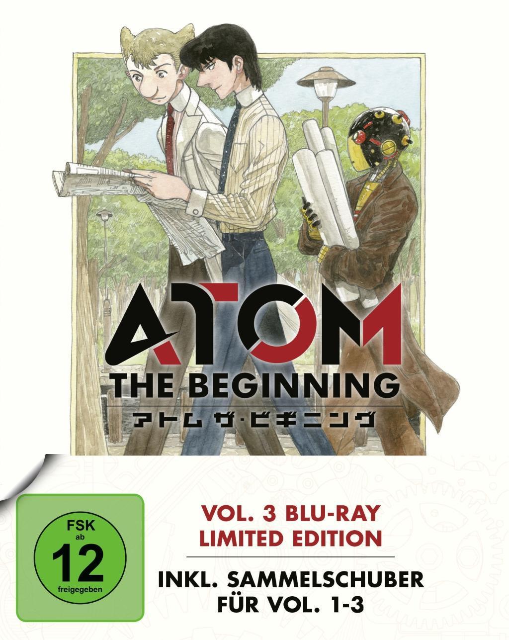 Atom the Beginning  Vol. 3 / inkl. Sammelschuber  Junichi Fujisaku  Blu-ray Disc  Deutsch  2017
