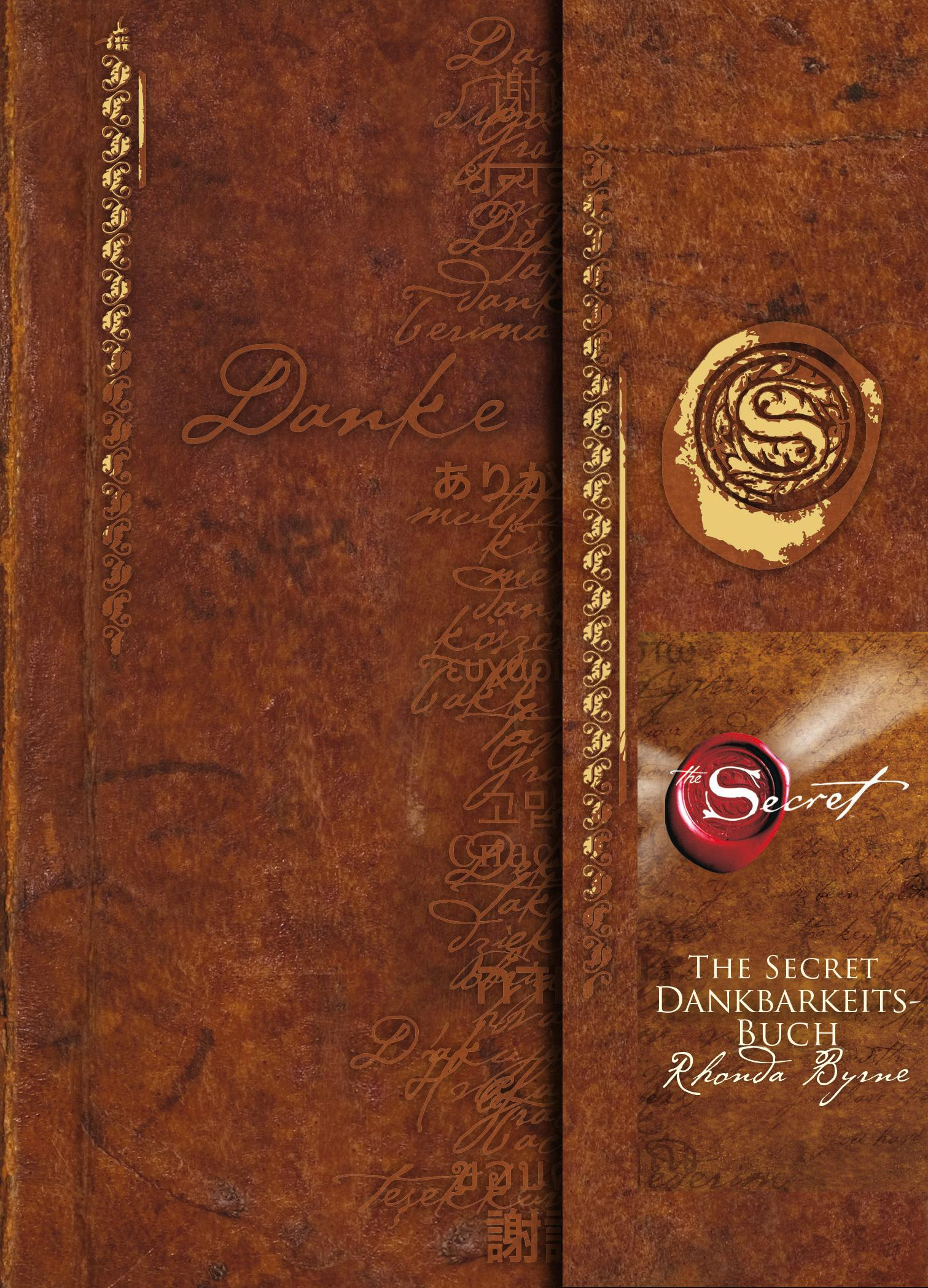 The Secret - Dankbarkeitsbuch Rhonda Byrne Buch Deutsch