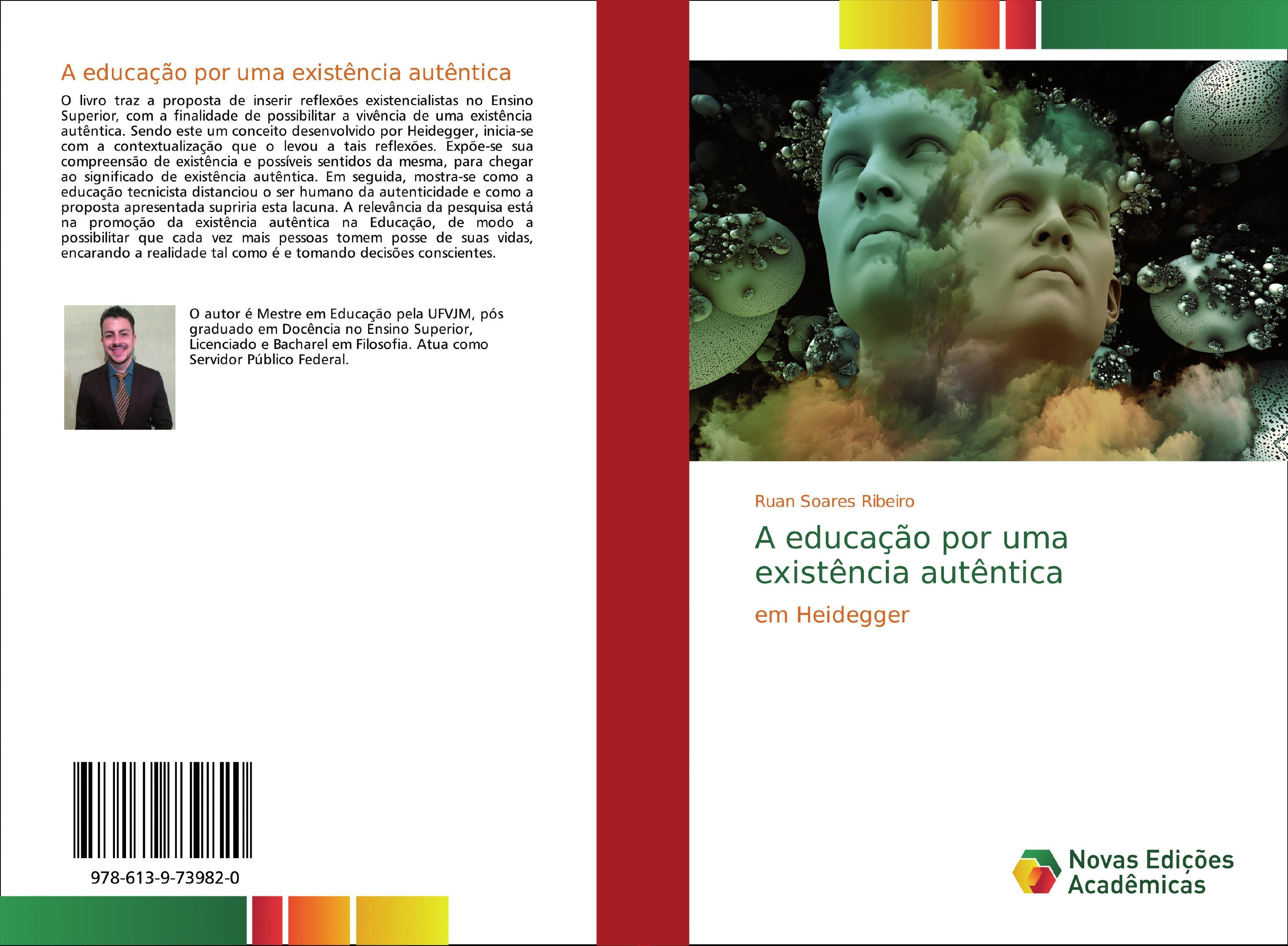 A educação por uma existência autêntica  Ruan Soares Ribeiro  Taschenbuch  Portugiesisch  2018 - Soares Ribeiro, Ruan