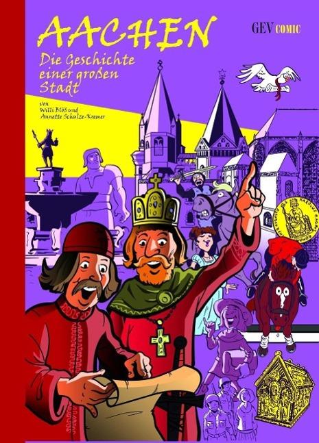 Aachen  Die Geschichte einer großen Stadt  Willi Bloess  Buch  Deutsch  2013 - Bloess, Willi