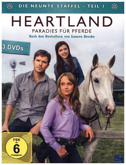 Heartland - Paradies für Pferde  Staffel 09 / Teil 1  Leila Basen  DVD  Deutsch  2015