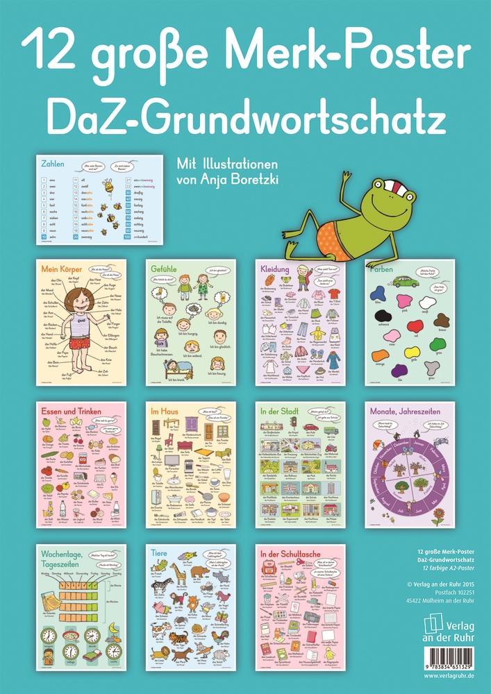 12-grosse-Merk-Poster-DaZ-Grundwortschatz-Poster-Deutsch-2015