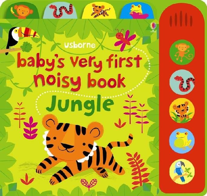 Baby's Very First Noisy Book Jungle Fiona Watt Buch Baby's Very First Englisch