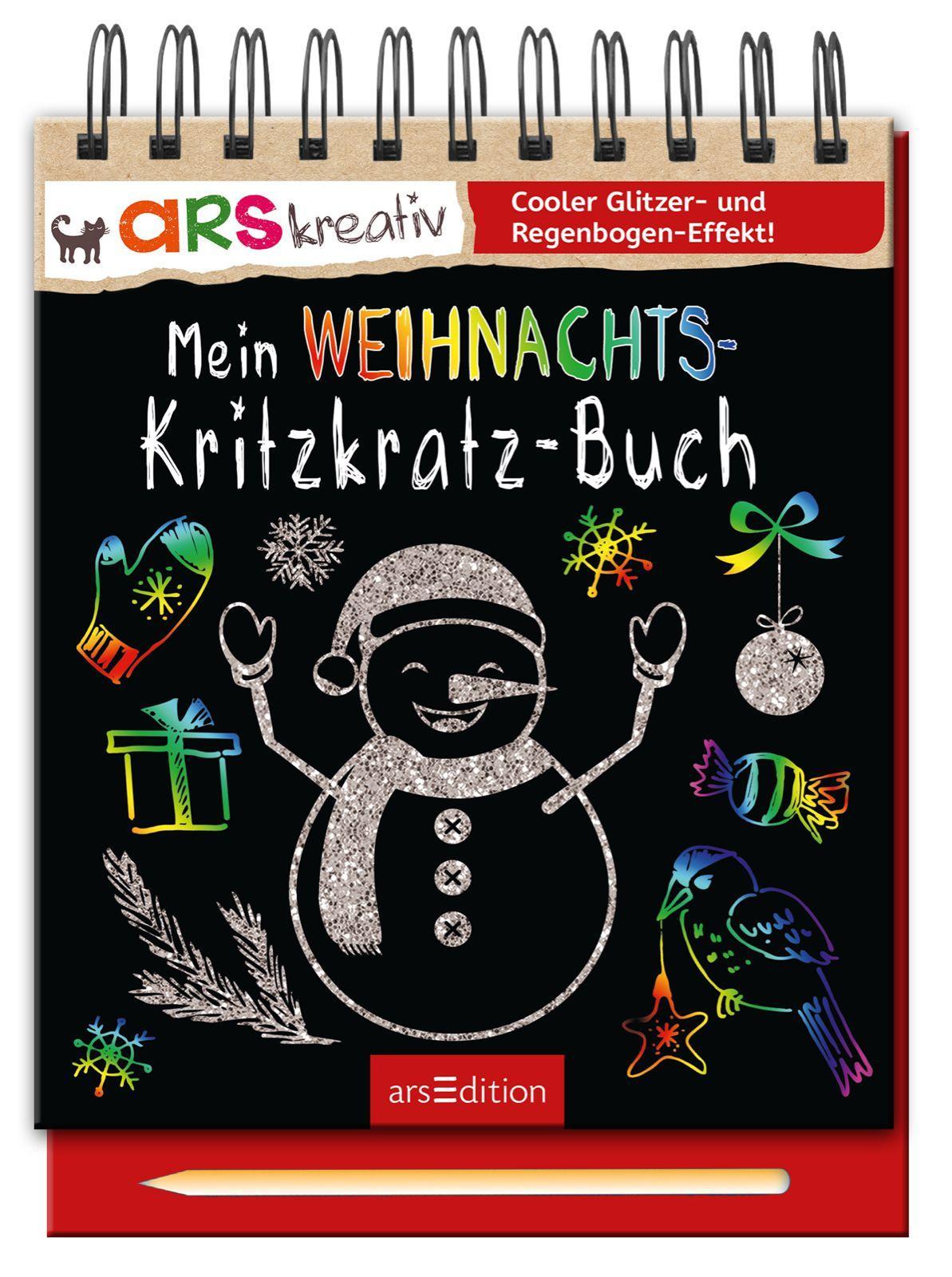 Mein-Weihnachts-Kritzkratz-Buch-Buch-Kritzkratz-Hardcover-mit-Holzstift-Deutsch