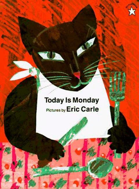 Today Is Monday  Eric Carle  Taschenbuch  Englisch  1997 - Carle, Eric