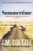 Summertime  J. M. Coetzee  Taschenbuch  Englisch  2010 - Coetzee, J. M.