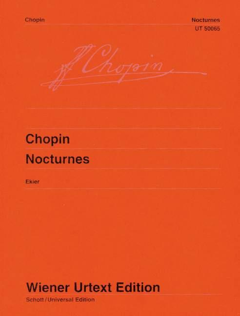 Nocturnes  Nach den Autographen, Abschriften und Originalausgaben  Jan Ekier  Taschenbuch  Urtextausgabe (Broschur)  Englisch  2021 - Ekier, Jan