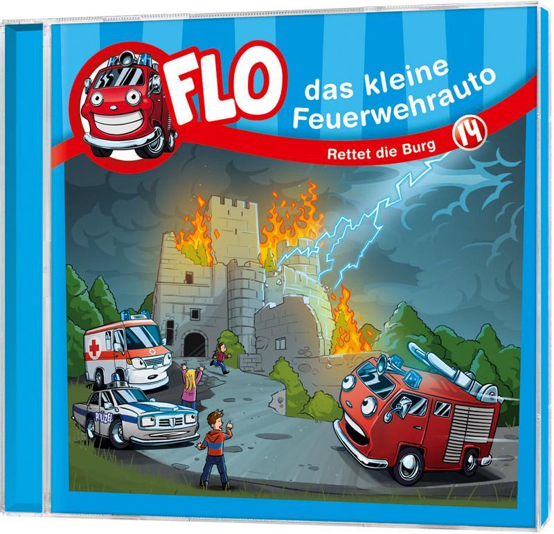 Rettet die Burg  Flo  Audio-CD  2019
