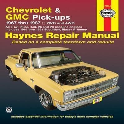Chevrolet & GMC Pick Ups (67 - 87)  Ken Freund  Taschenbuch  USA service & repair manuals  Englisch  1988 - Freund, Ken