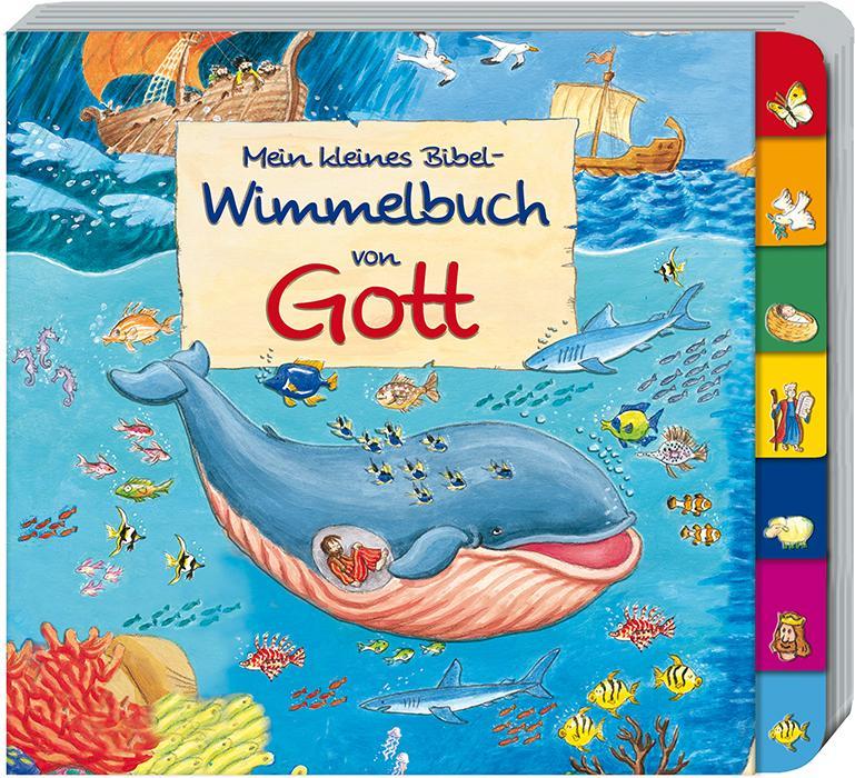 Mein kleines Bibel-Wimmelbuch von Gott  Reinhard Abeln  Buch  PAPPE  Deutsch  2017 - Abeln, Reinhard