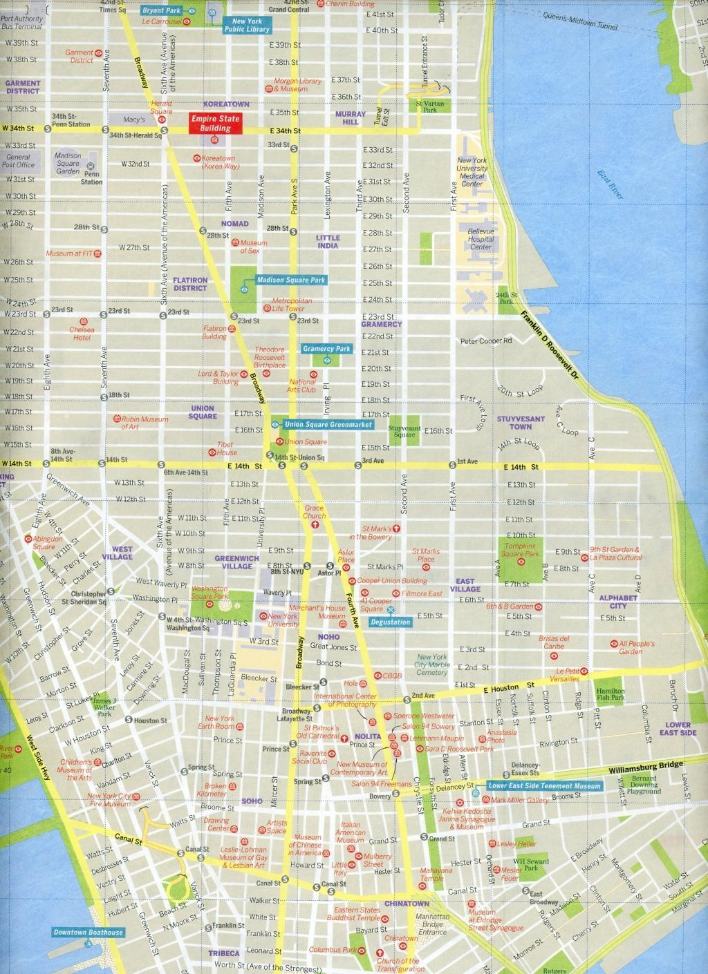 Lonely-Planet-New-York-City-Map-Land-Karte-LP-Travel-Guide-Englisch-2016