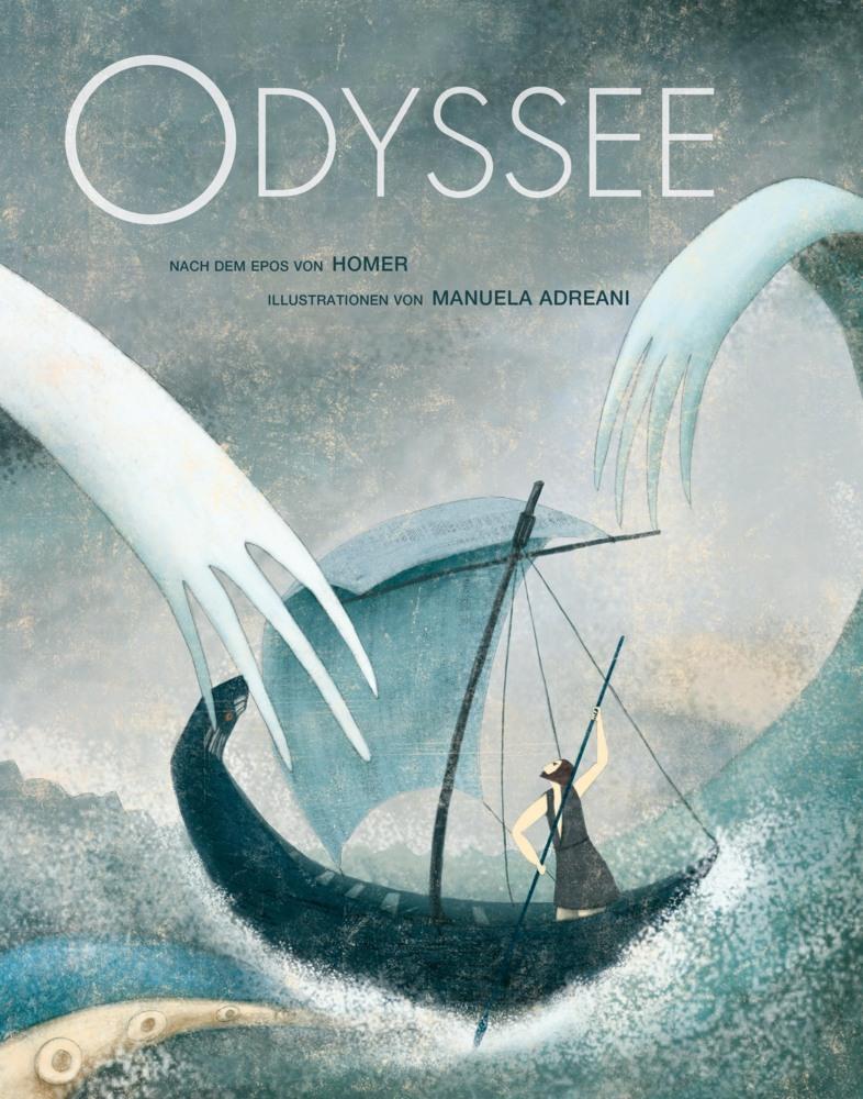Die-Odyssee-Nach-dem-Epos-von-Homer-Homer-Buch-Deutsch-2016
