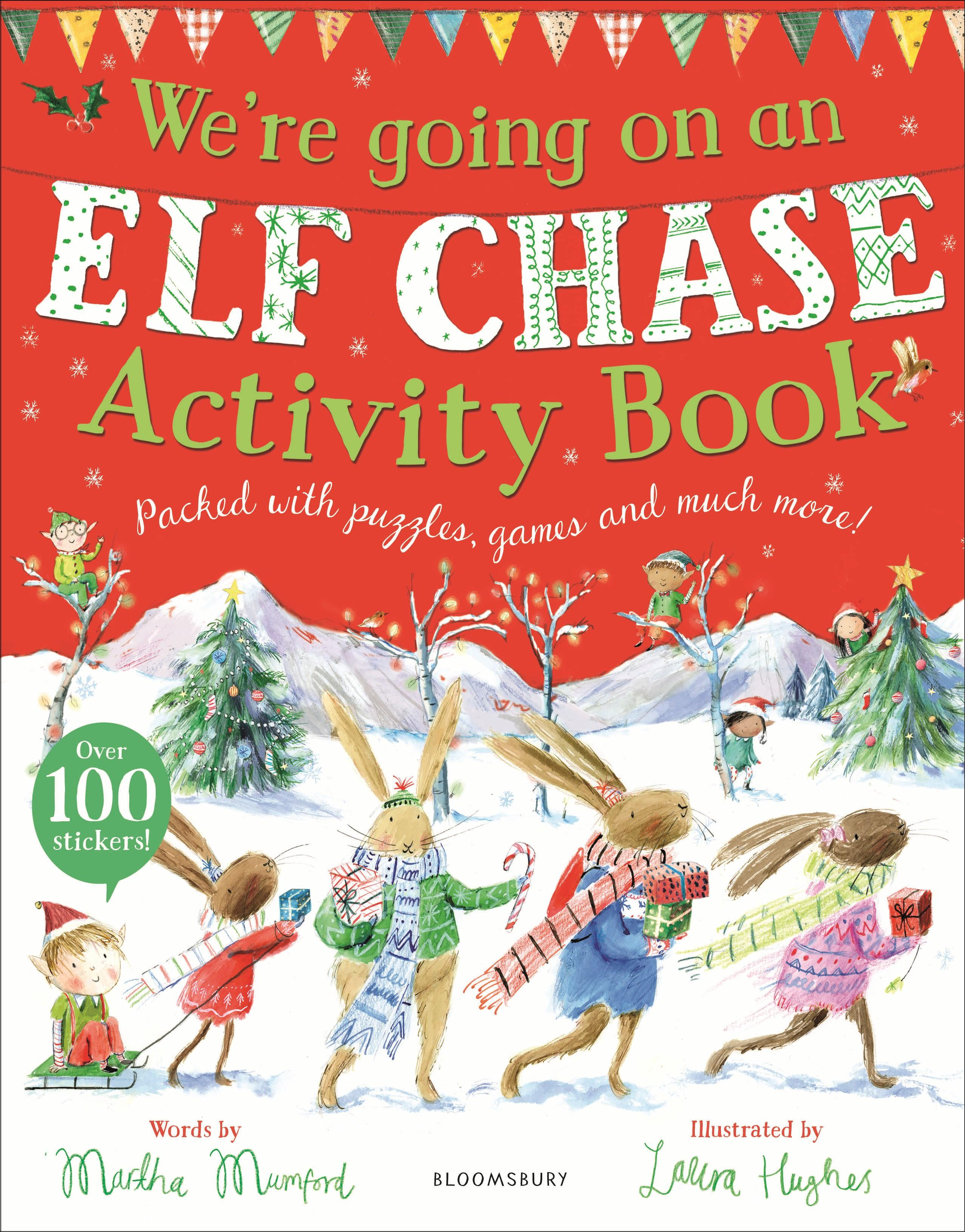 We're Going on an Elf Chase Activity Book  Martha Mumford  Taschenbuch  Englisch  2020 - Mumford, Martha