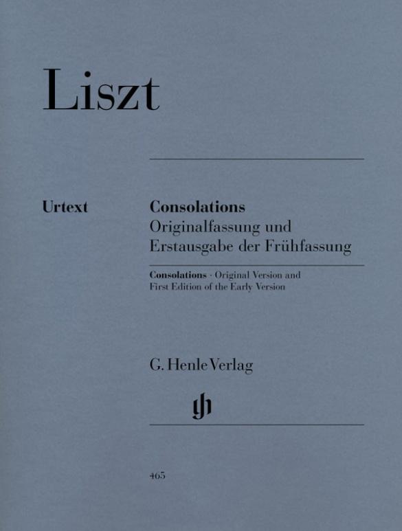 Consolations Franz Liszt Taschenbuch , Deutsch