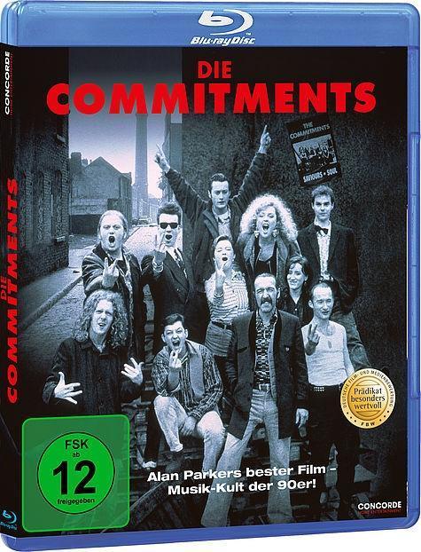 The Commitments Alan Parker Blu-ray Disc Deutsch 1991