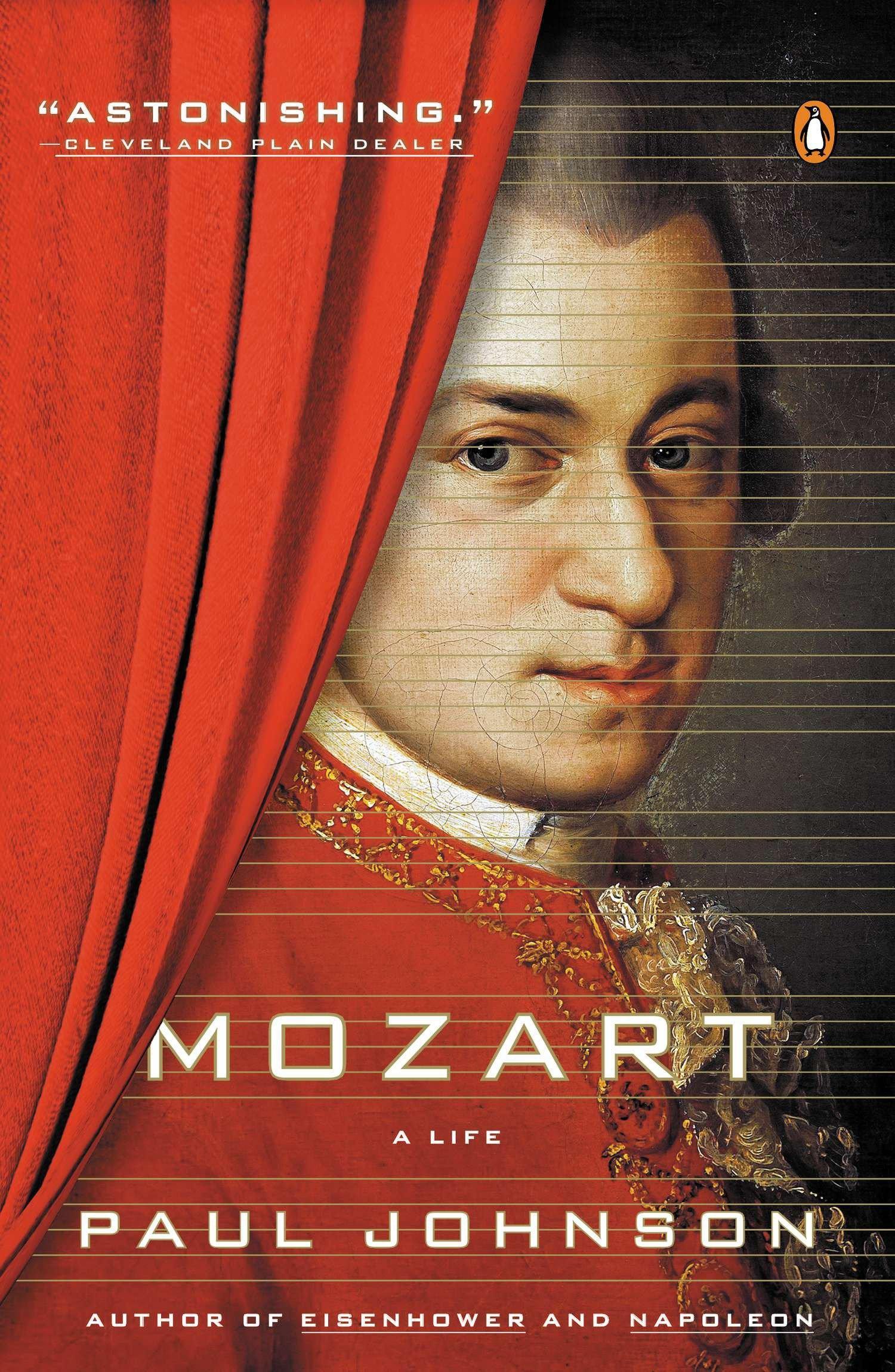 Mozart  A Life  Paul Johnson  Taschenbuch  Englisch  2015 - Johnson, Paul
