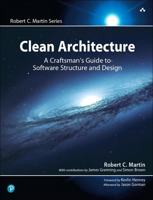 Clean Architecture  A Craftsman's Guide to Software Structure and Design  Robert C. Martin  Taschenbuch  Englisch  2017
