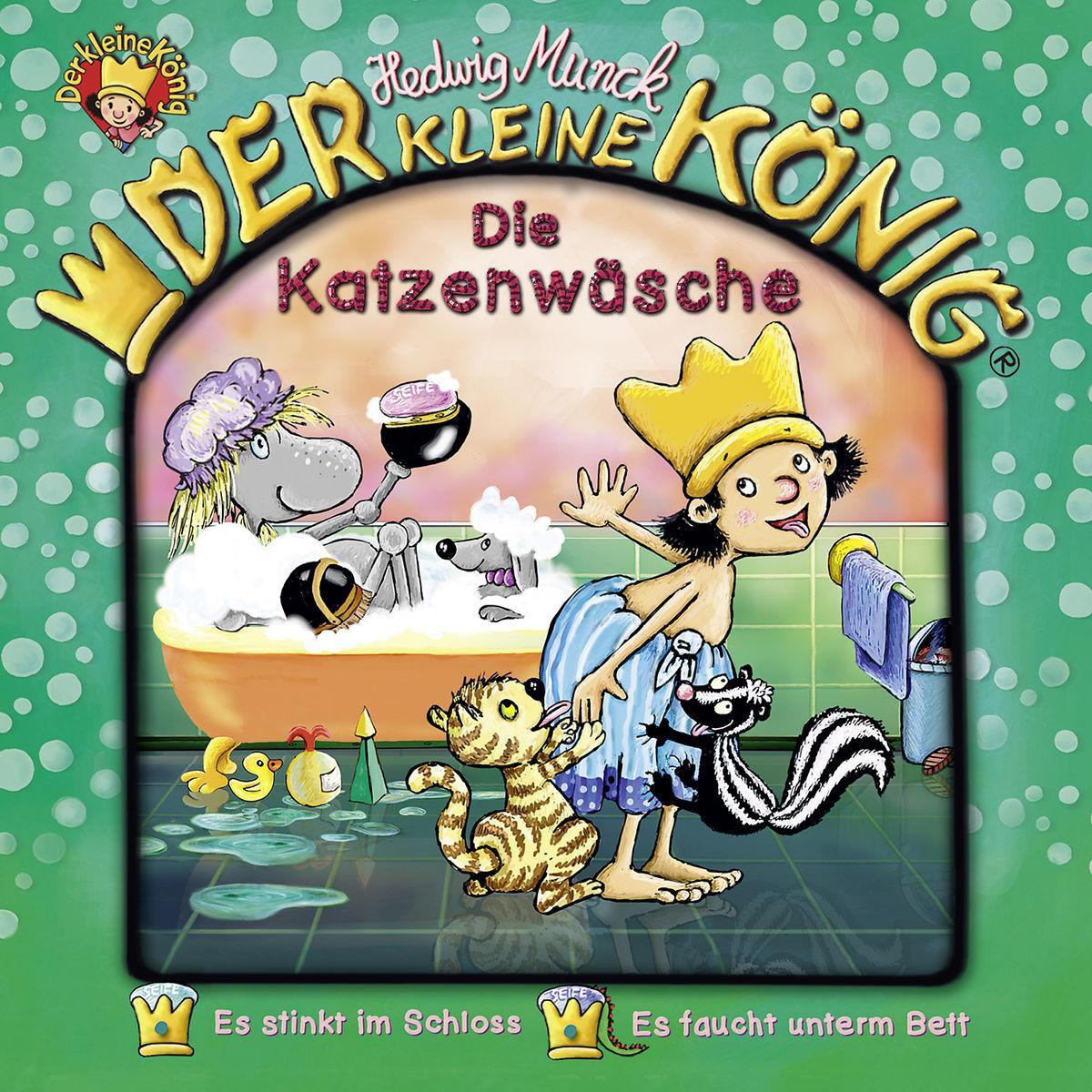 39: Die Katzenwäsche  Der Kleine König  Audio-CD  2018
