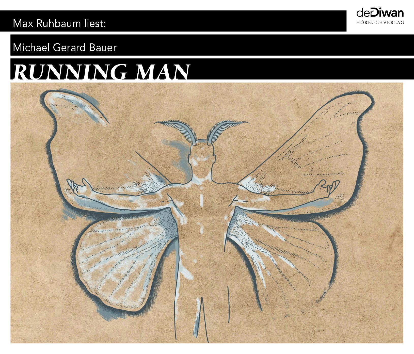 Running Man  Michael Gerard Bauer  Audio-CD  Jewelcase  6 Audio-CDs  Deutsch  2019 - Bauer, Michael Gerard