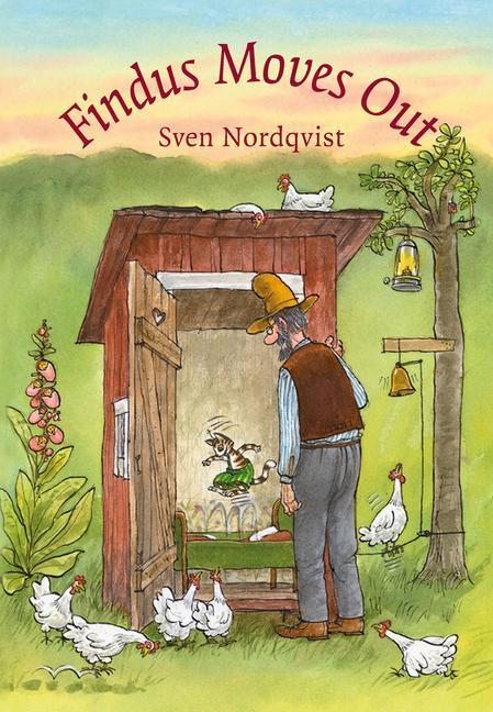 Findus Moves Out  Sven Nordqvist  Buch  28 S.  Englisch  2012 - Nordqvist, Sven