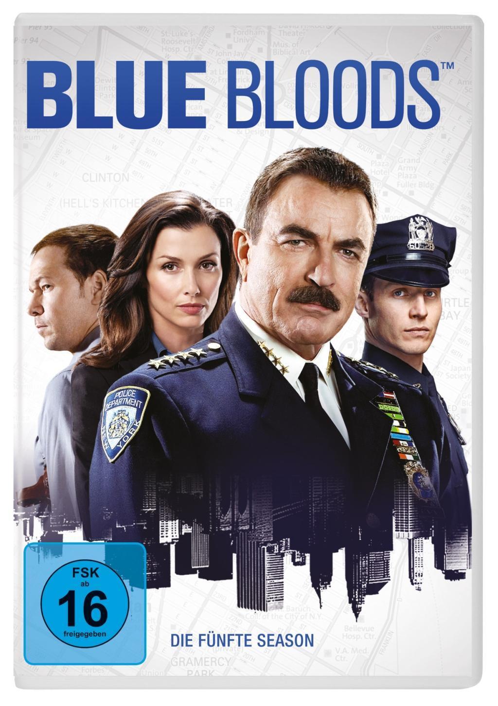 Blue Bloods  Die fünfte Season, USA 2014-2015, FSK ab 16, 6 DVD-Videos, Dt/engl/frz, UT: Dt/frz/engl, Blue Bloods 5  DVD  880 Min.  Deutsch  2018