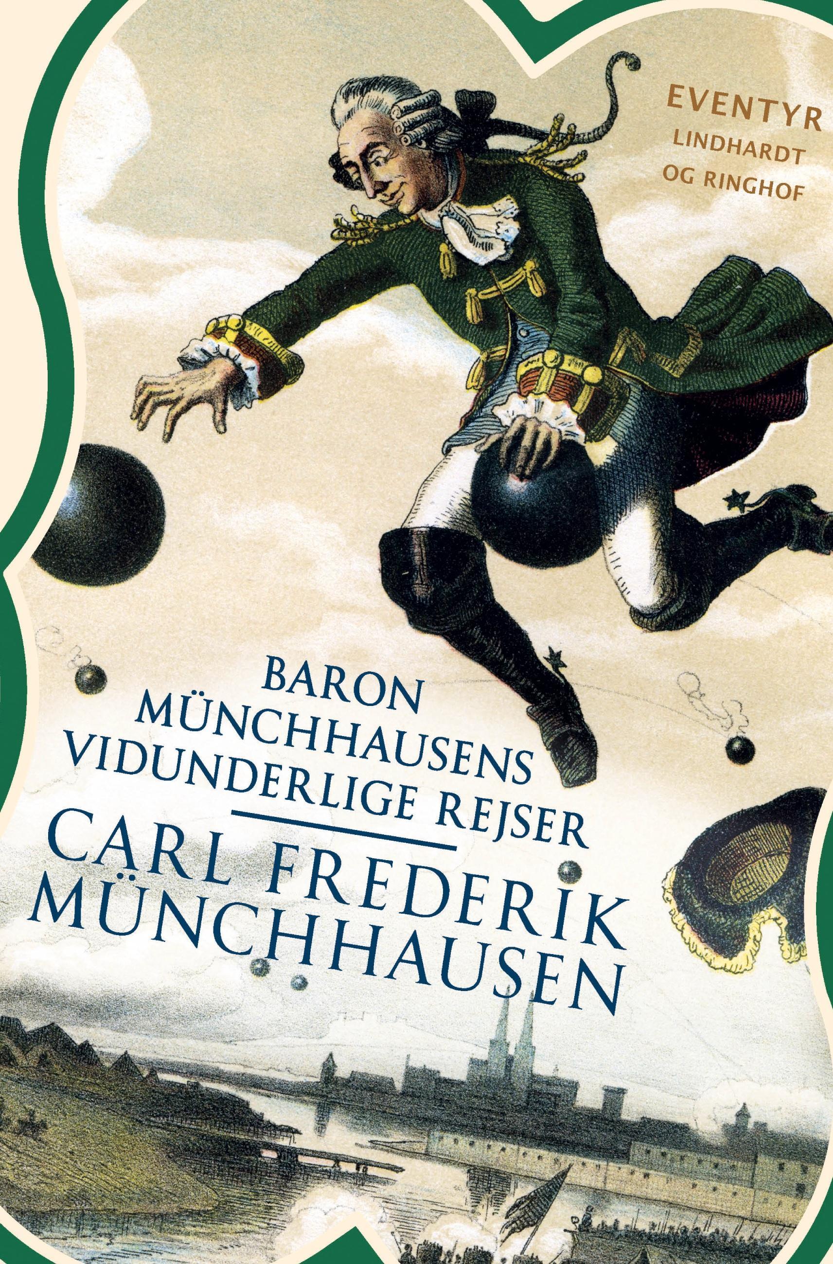 Baron Münchhausens vidunderlige rejser  Carl Frederik Münchhausen  Taschenbuch  Paperback  Dänisch  2021 - Münchhausen, Carl Frederik